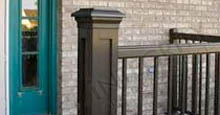 Decorative Aluminum Columns Snap Together Around Existing Porch Posts