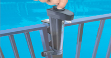 Self Latching Hands Free Magna Latch Brand Gate Latch Specialy Designed For Pool Gate Safety