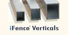 Four Different Vertical Picket Sizes