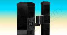 Titan Durable Hinge Systems For Large Gates Using 4 inch Square Posts