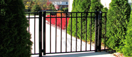 San Marino Style Horizon Straight Commercial Gate