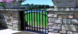 Excelsior Style Suncliff Sunrise Arch Aluminum Walkway Gate