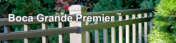 Boca Grande Ornamental Commerical Fence