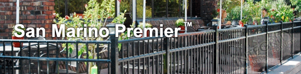 San Marino Ornamental Commercial Fence