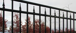 Commercial Grade Excelsior Aluminum Panels of Fence