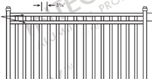 Boca Aluminum Fences and Gates Schematics