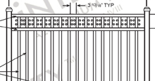 Camarillo Aluminum Fences and Gates Schematics