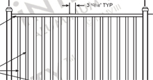 Ventura Aluminum Fences and Gates Schematics