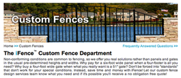 Online Tool To Guide In the Ordering Of Custom Aluminum Fences and Gates