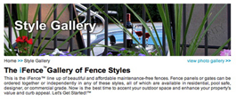 Online Tool of All 18 Styles of Aluminum Fencing Gallery