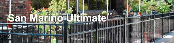 San Marino Ornamental Industrial Fence
