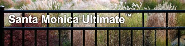 Santa Monica Ornamental Industrial Fence