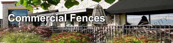 Providence Industrial Grade Perimeter Aluminum Fence Panel