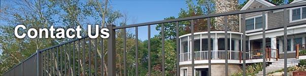 Ventura Residential Aluminum Fence Panels