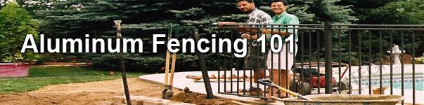 Installation of Boca Grande Aluminum B.O.C.A. Safety Pool Code Perimeter Fencing