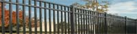 San Marino Commercial Aluminum Fences